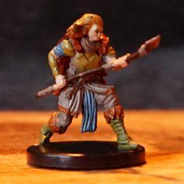 Blight Druid Mini, Maze Of Death, Pathfinder Battles